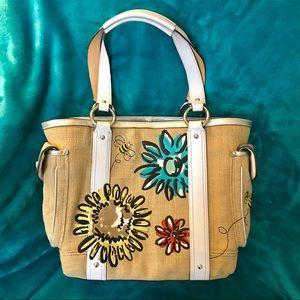 EUC Coach Bumble Bee 🐝Limited Edition Handbag